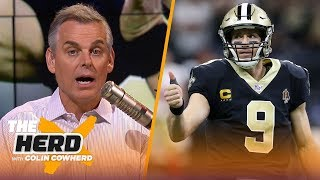 Colin was more impressed by Saints in loss to 49ers than Chiefs in win vs Patriots | NFL | THE HERD