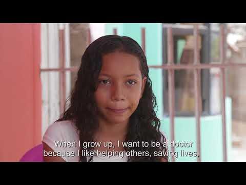 Meet Sandra Milena - Plan International sponsored child in Colombia
