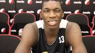 Cheick Diallo at 2015 Nike Hoop Summit practice
