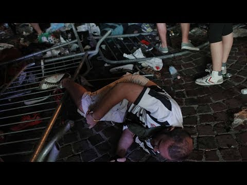 Watch: Around 200 injured in Turin stampede involving fans watching Champions League Final