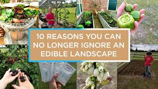 10 Reasons You Can No Longer Ignore an Edible Landscape