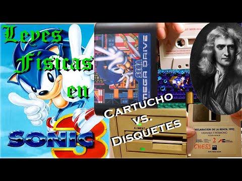 Retrospectiva 12 - Sonic 3 (parte 3) ~ Leyes físicas en Sonic 3 y Comparativa Cartucho vs. Cassette