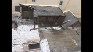 Hình ảnh Bão số 12 tại Nha Trang sáng 4.11