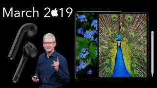 2019 iPads & AirPods 2 | Apple's March Event | WWDC 2019