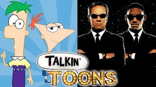 Phineas and Ferb Are The Men in Black! (Talkin' Toons w/ Rob Paulsen)