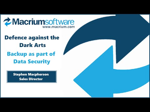IPExpo Manchester 2016 - Macrium Software