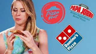 The Delivery Pizza Taste Test