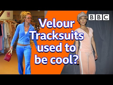 Remember when Velour Tracksuits were a thing? 🙈😳🤦 – BBC