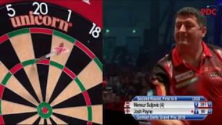 Mensur Suljovic vs. Josh Payne | German Darts Grand Prix 2019 | Round 2