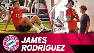 FC Bayern Performance Test w/ James Rodríguez