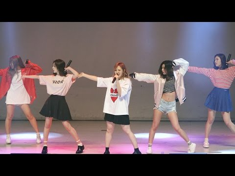 레드벨벳 Red Velvet[4K직캠]행복 Happiness@20160419 Rock Music