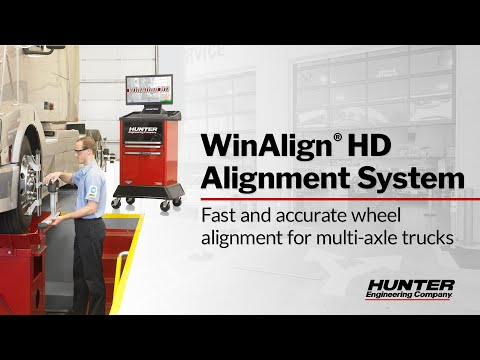 WinAlign HD Alignment System - Trailer Alignment