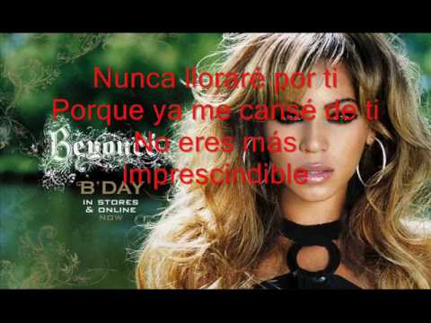 Beyonce - Irremplazable(letra)