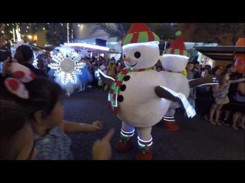 Christmas Parade at SM Mall of Asia in Manila