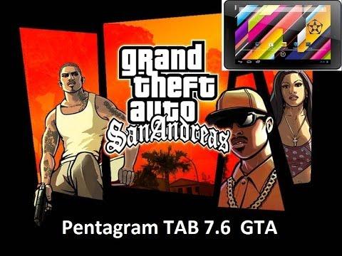 Pentagram Tab 7.6 Gry #3 GTA San Andreas