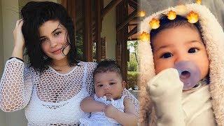 Kylie Jenner EXPLAINS How She Chose Stormi's Name