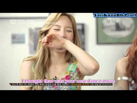 [ENG] SNSD TaeTiSeo Cooking Show Cut