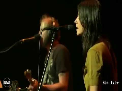 bon iver ft  Sharon Van Etten   love more live