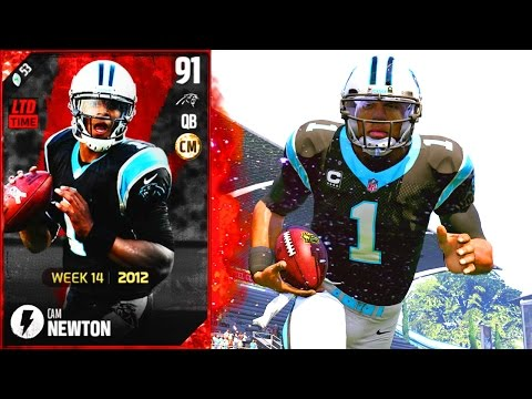 MOST ELECTRIFYING CARD IN MADDEN! FLASHBACK CAM NEWTON!- Madden 17 Ultimate Team New Music Video