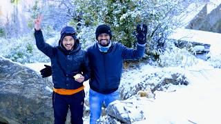 Snowfall in Auli, Uttarakhand Trip_March 2019