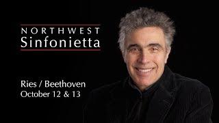 Northwest Sinfonietta Preview: October 12 & 13, 2019 Beethoven Violin Concerto