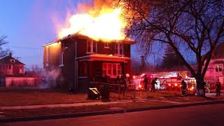 Evacuation Horns Sounded in Detroit Fire Firefighters Evacuate Building March 25th, 2018