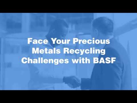 Face Your Precious Metals Recycling Challenges with BASF
