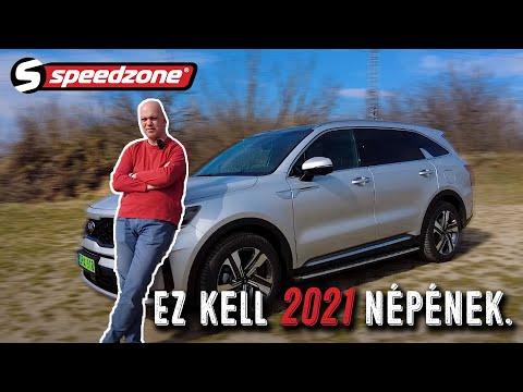 Speedzone teszt: Kia Sorento PHEV: Ez kell 2021 népének