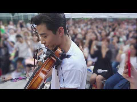 [HD/#Fancam] #헨리 바이올린 연주 '멜로망스의 선물' _ #Henry 아메리칸 이글 팬사인회 _180811