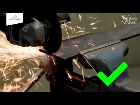 How to start a cut safely with an angle grinder