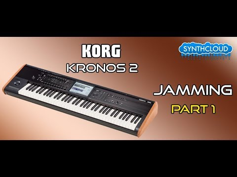 Korg kronos 2 2015 jamming part 1 ( Synthonia - Performer Alex Didonna )