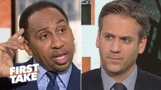 Are the Saints in trouble? Stephen A. is worried but Max Kellerman isn't panicking | First Take