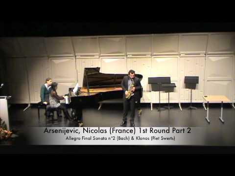 Arsenijevic, Nicolas (France) 1st Round Part 2