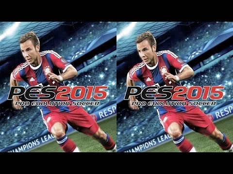 PES 15 3D video half SBS by Mitch141 141's channel