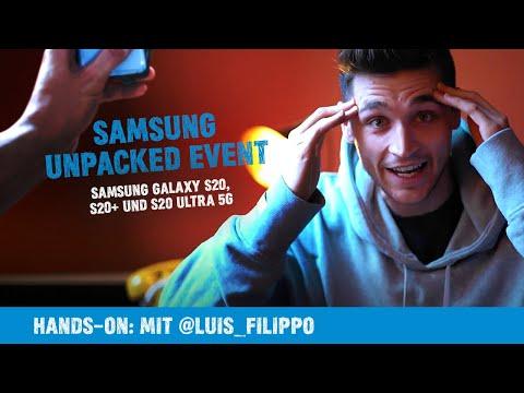 Hands on: Samsung Galaxy S20, S20+ und S20 Ultra 5G | Samsung Unpacked Event