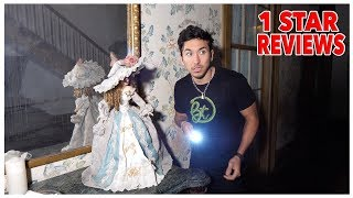 Staying At The Most Haunted Reviewed Hotel In The United States (24 hours)