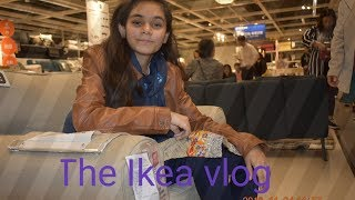 Meet the youngest salesgirls || The Ikea vlog