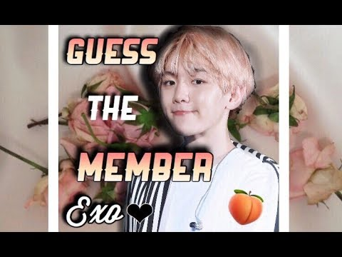 GUESS THE EXO MEMBER! EASY