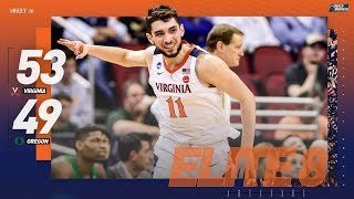 Virginia vs. Oregon: Sweet 16 NCAA tournament extended highlights