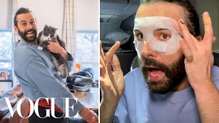 Jonathan Van Ness's Travel Routine, From New York to LA | On the Go | Vogue