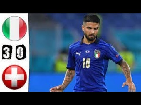 Italy vs switzerland 3-0, all goals and extended highlights