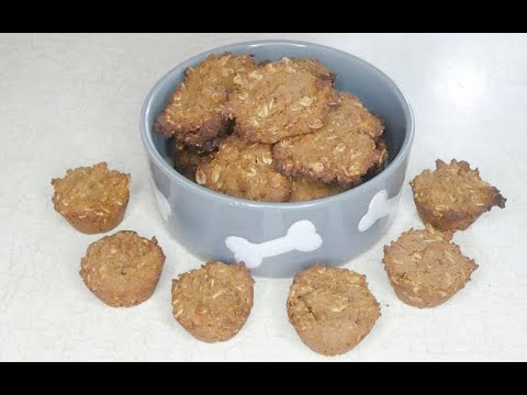 Molasses and Peanut Butter Dog Treats Recipe