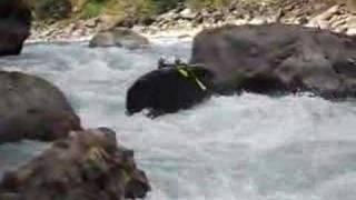 Vidéo de rafting au népal