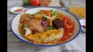 Bún riêu, không cần cua xay vẫn làm được riêu rất thơm béo và ngon đậm đà   Natha Food