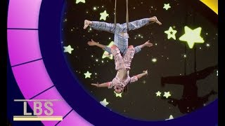 Meet Aerial Acrobats only 7 & 10 years old!   Little Big Shots Aus Season 2 Episode 3