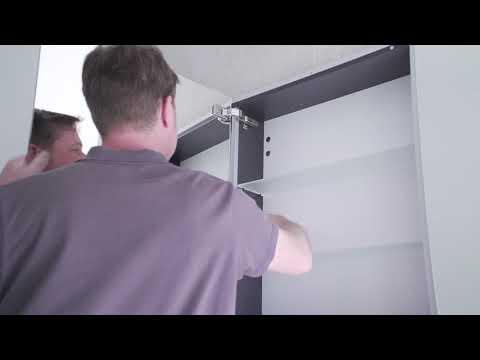 burgbad rl30 Spiegelschrank Montage