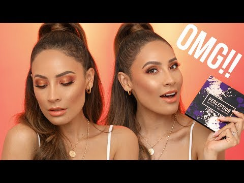 SHAYLAXCOLOURPOP MAKEUP TUTORIAL | DESI PERKINS