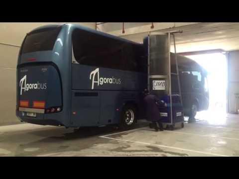 Monocepillo de segunda mano - Lavado de autobuses - Limpieza de autocares en Sevilla