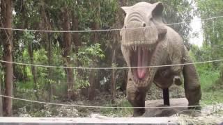 Jurassic Park Safari at Parque Safari in Rancagua, Chile - October 12, 2016