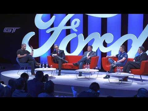 """The Thrill of Driving"" - Ford Panel Discussion, hosted by Chris Harris"